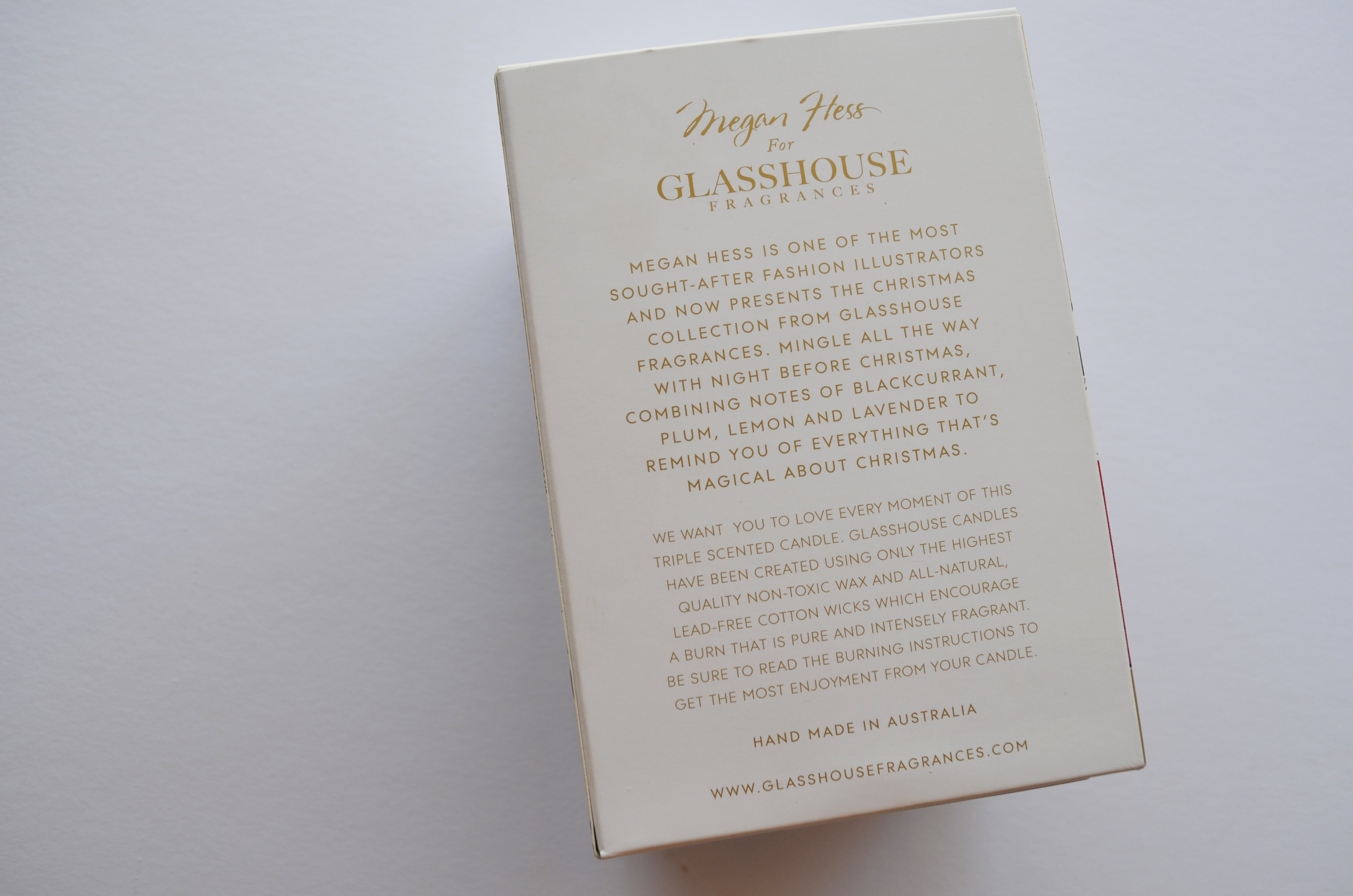 Glasshouse Fragrance Night Before hristmas – lysha Jacobson - ^